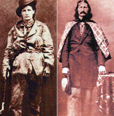Calamity Jane & Wild Bill Hickok