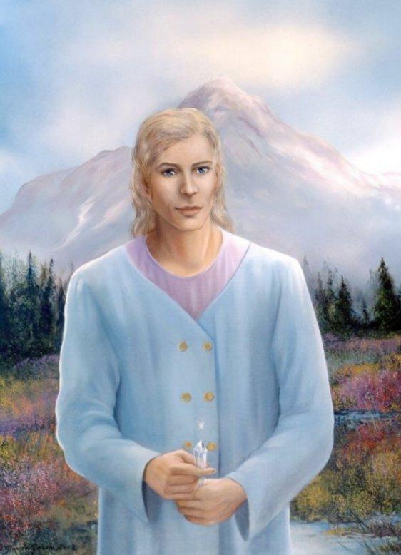 Adama at Mt. Shasta
