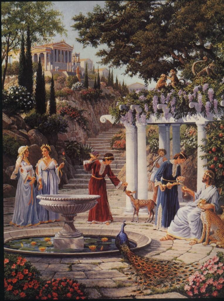 Atlantis depiction