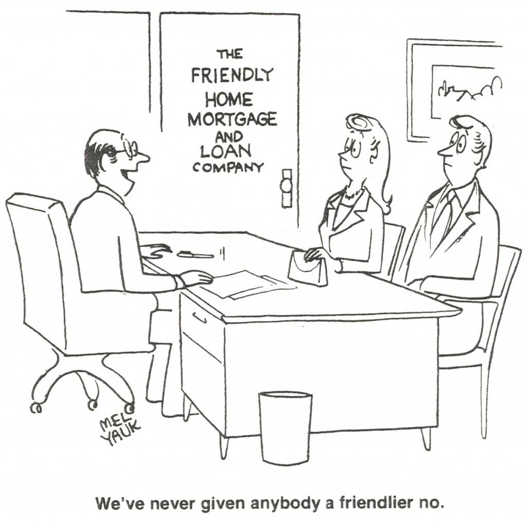 Mortgage Cartoon