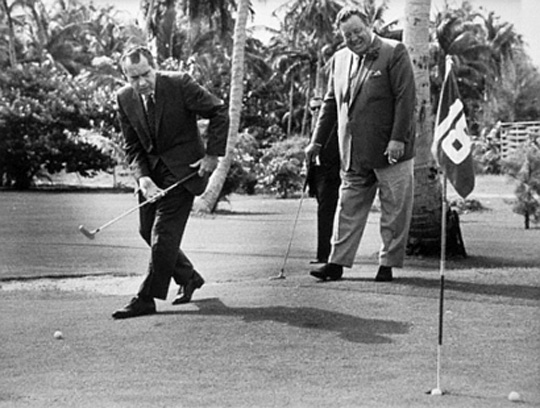 President Nixon & Gleason