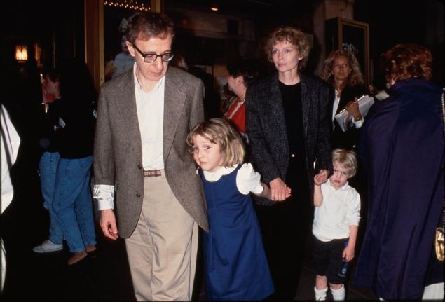 Woody Allen & Daughter