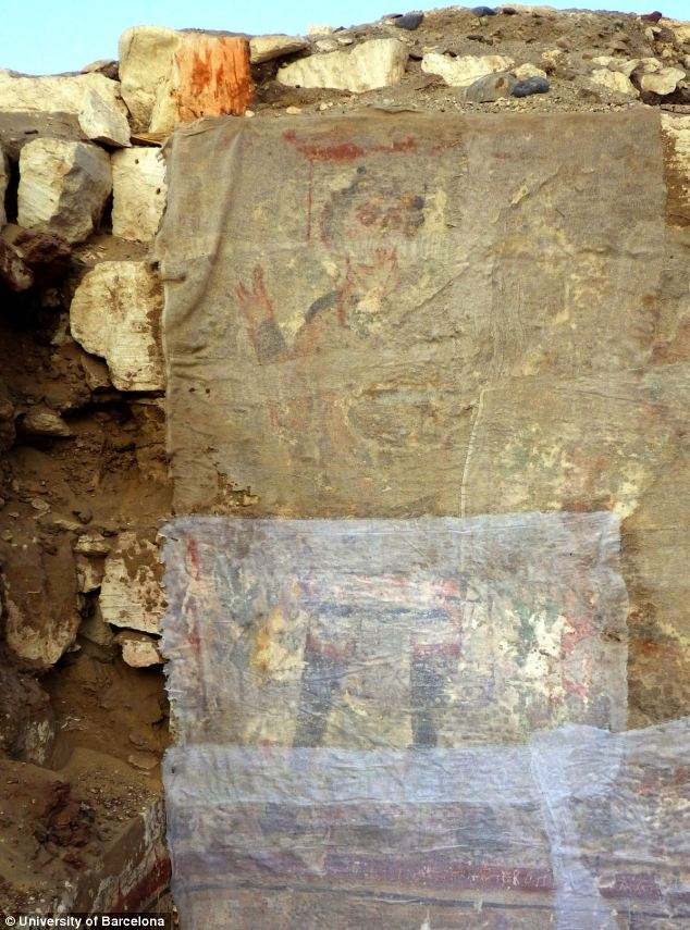 Drawing of Jesus in Egypt