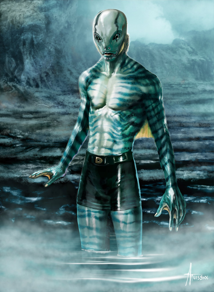 Abe Sapien - Hellboy Movies