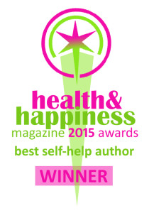 Best Author logo 2015 Health and Happiness