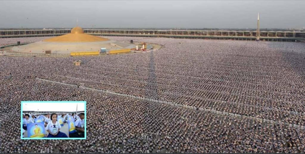 One Million Children Meditate for World Peace