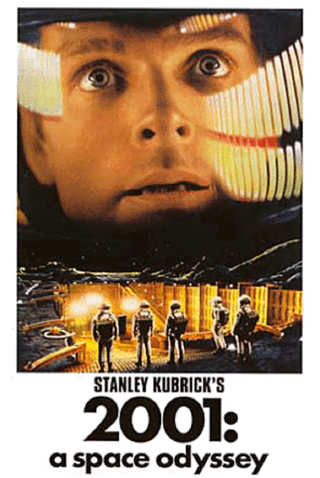 2001 Space Odyssey Poster