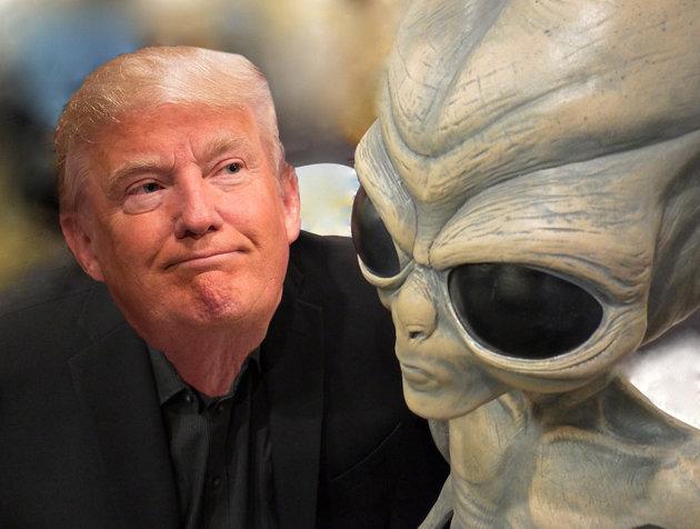 Donald Trump and Alien