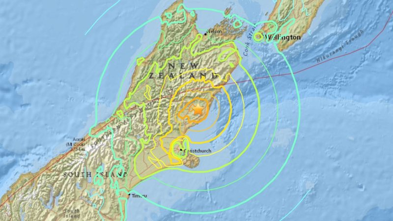 New Zealand 2016 Earthquake