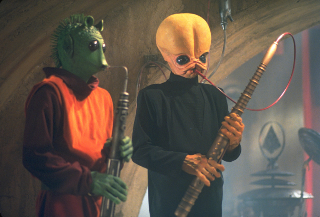 Aliens Playing Music