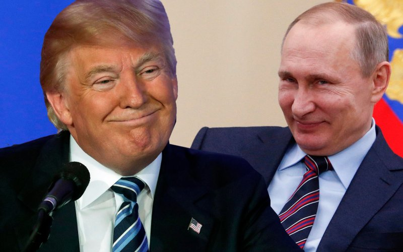 Trump & Putin--The Daily Beast image