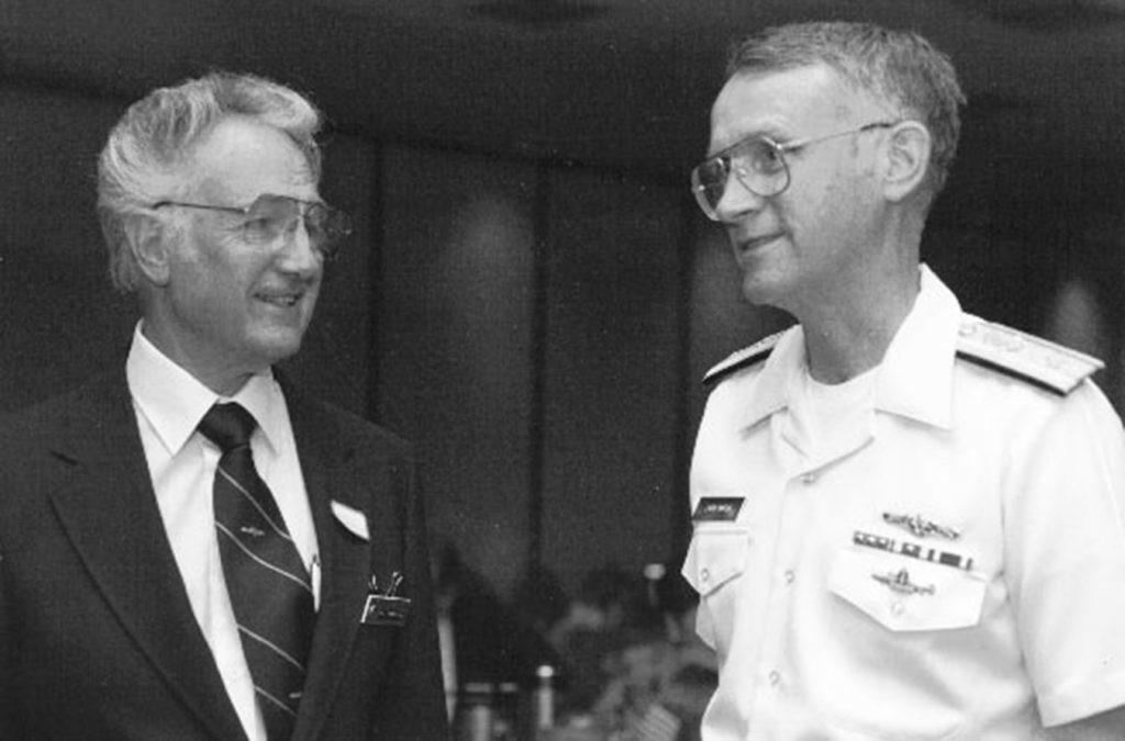Bill Tompkins & Admiral Marsh