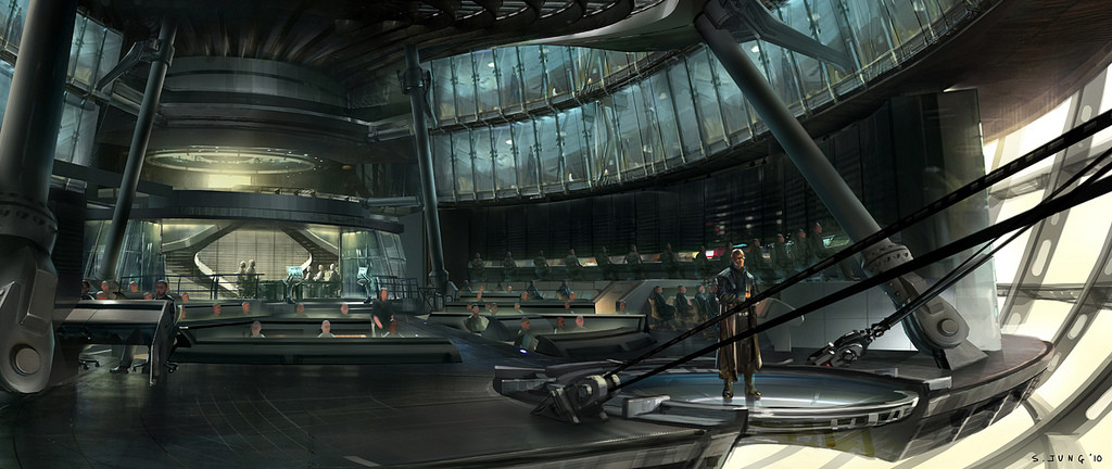 Mothership Interior Concept Art