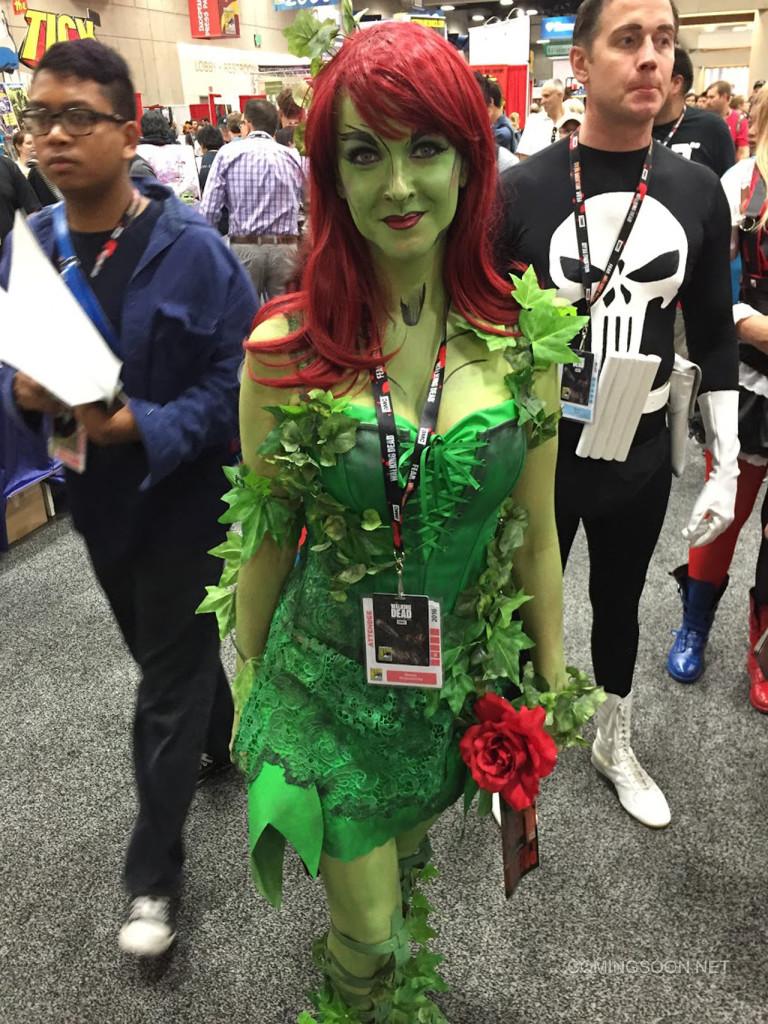 Green Alien Costume Comic Con