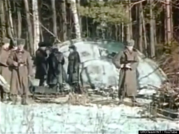 Russian UFO Alien Crash -- Huffington Post