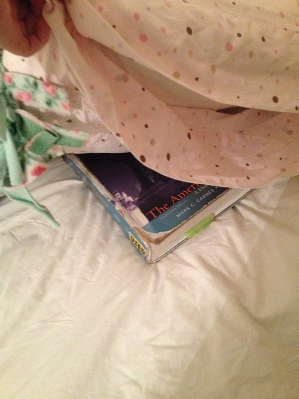 Book Under Pillow