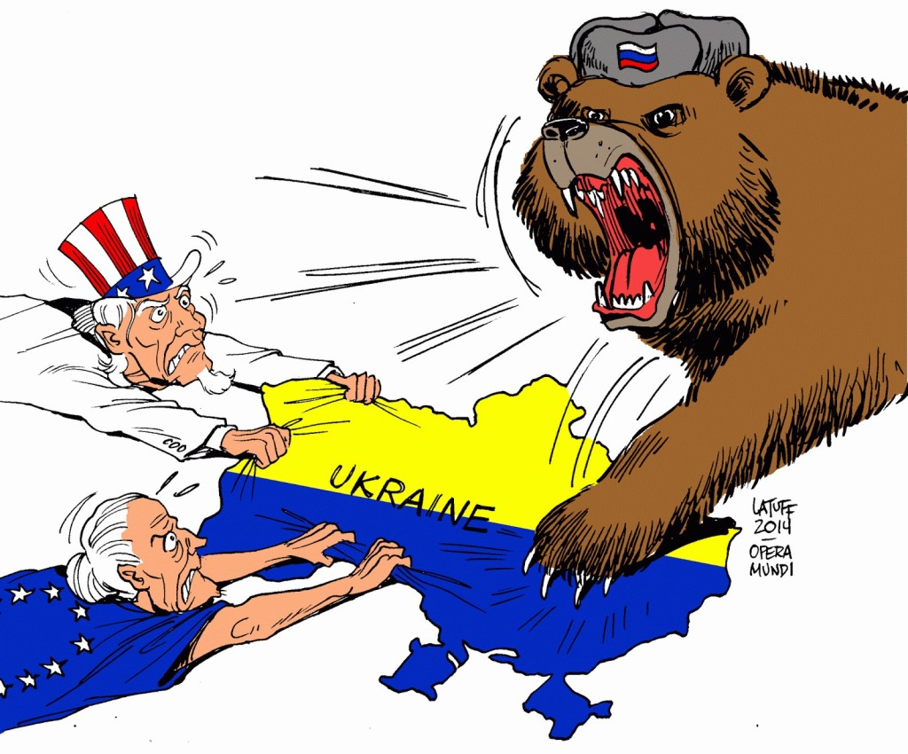 USA, EU, Russia, Ukraine