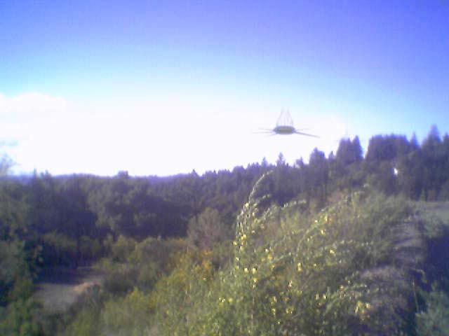 UFO Near Lake Tahoe
