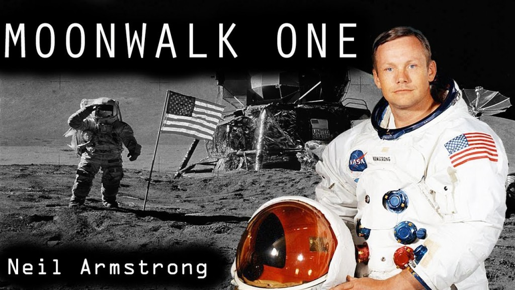 Neil Armstrong Moonwalk