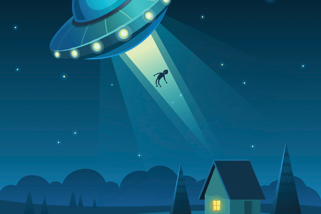 UFO and Child