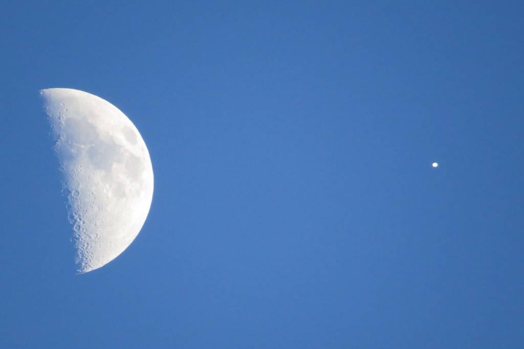 UFO Near Moon