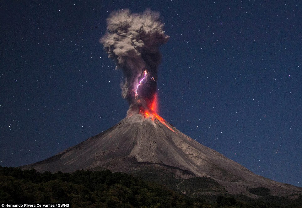 Mexico Volcano Eruption