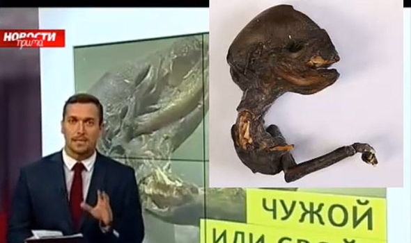 Russian and Alien Photo