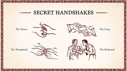 Secret Handshakes
