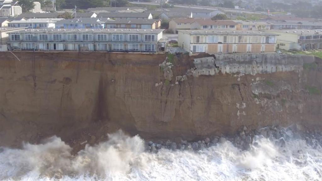 California Coastline Collapse