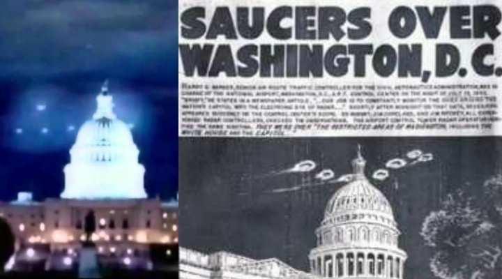 UFO's over Washington DC