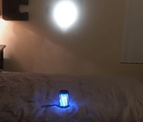 CGI Portal in Bedroom