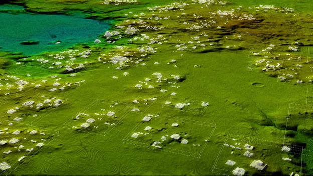 Lidar of Mayan Civilization