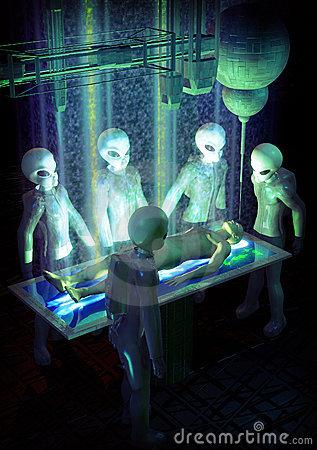 Alien Abduction depiction