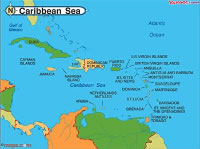 Caribbean Sea Map