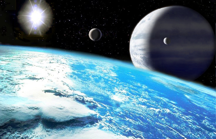 Water Planet Depiction
