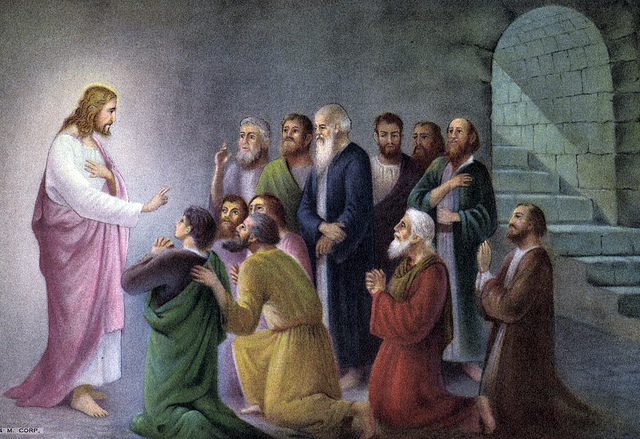 Jesus and Disciples