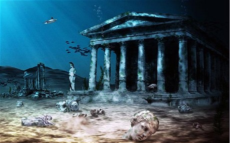 Atlantis depiction