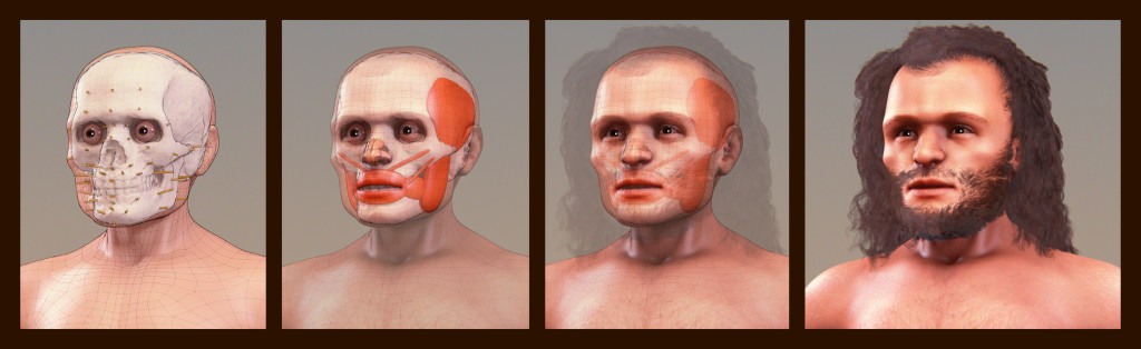 Cro-Magnon Reconstruction