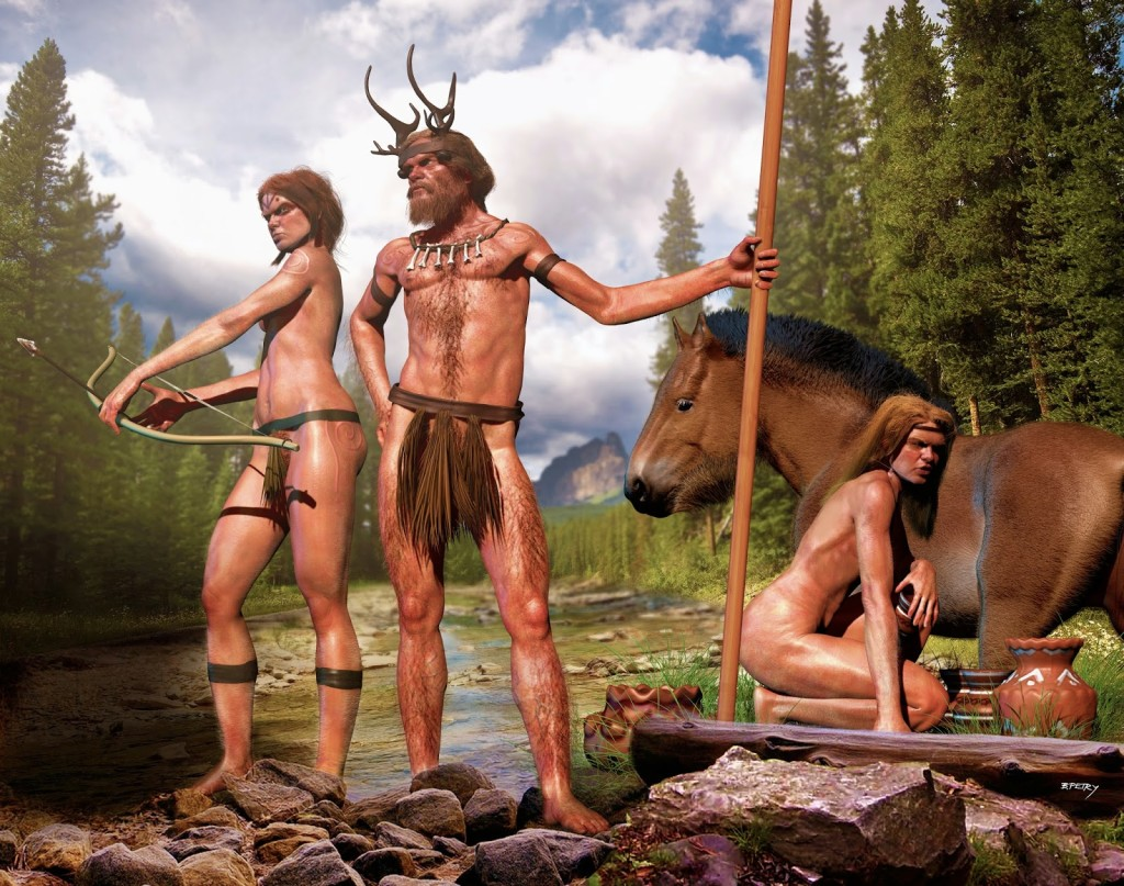 Cro-Magnons depiction