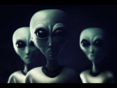 Green Alien Depiction