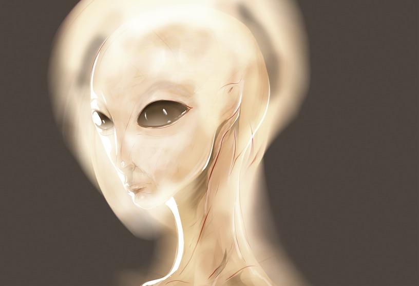 Depiction of ET by Kaan Demircelik