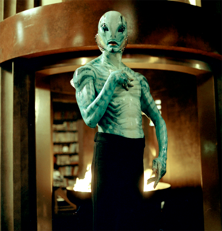 Abe Sapien in the Hellboy movies.