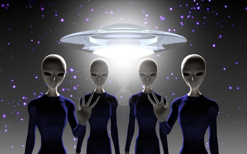 Aliens Greeting