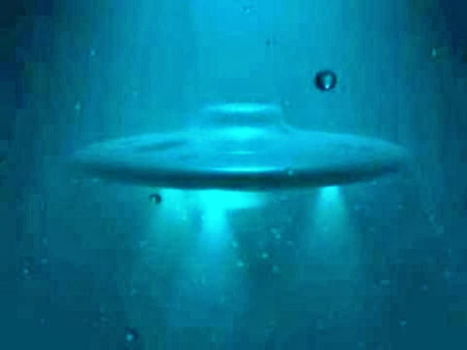 UFO Under the Ocean