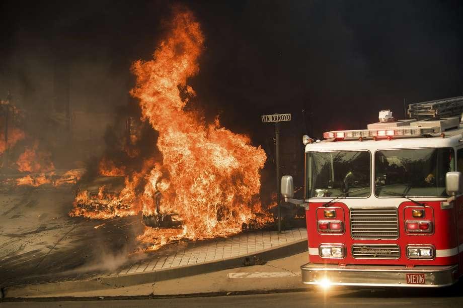 Ventura County California Thomas Fire