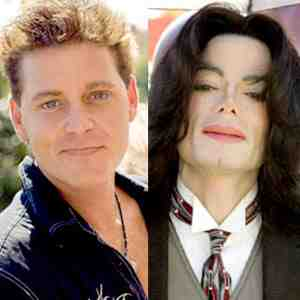Corey Haim and Michael Jackson