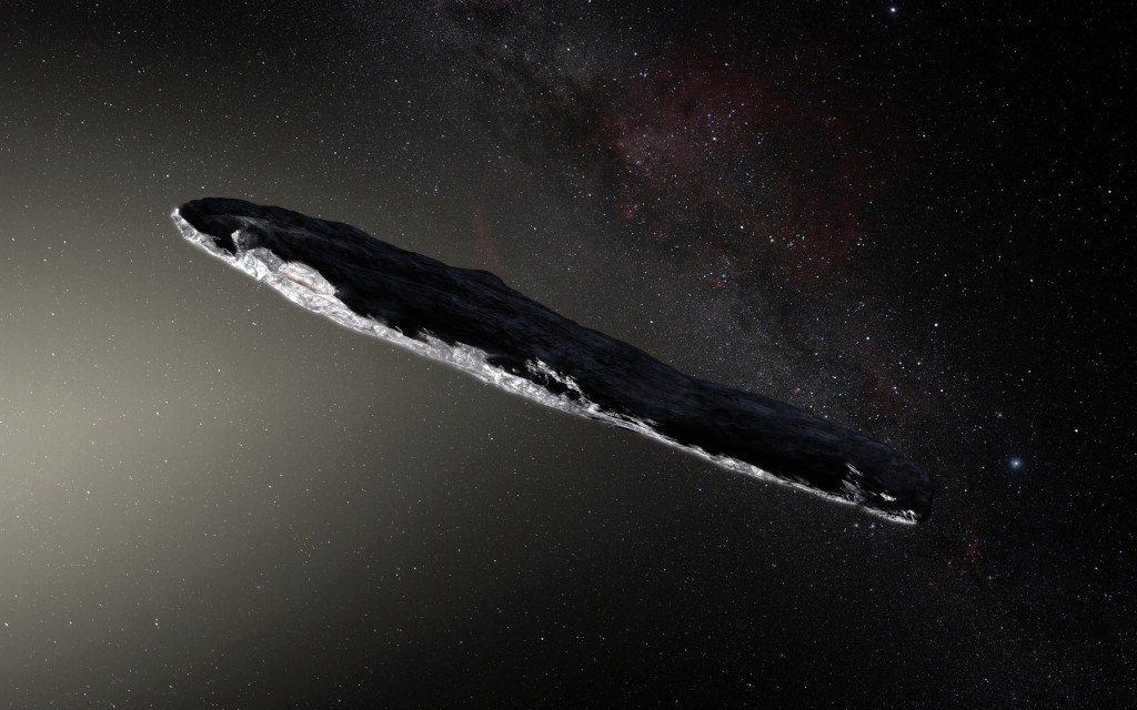 Asteroid Artist Depiction