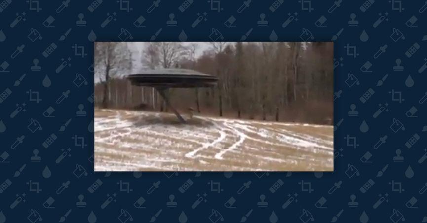 CGI of ET boarding spaceship