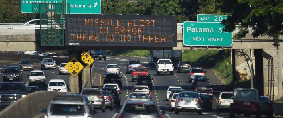 Hawaii False Alert