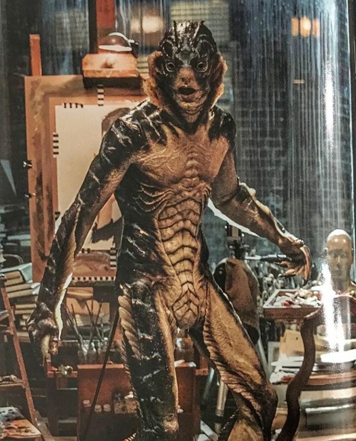 Shape of Water Amphibian Aquaman